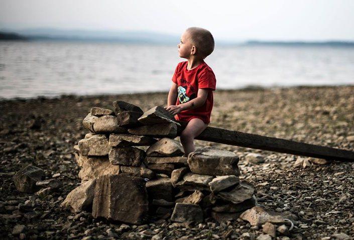 fotografovanie detí v exteriéri fotograf orava